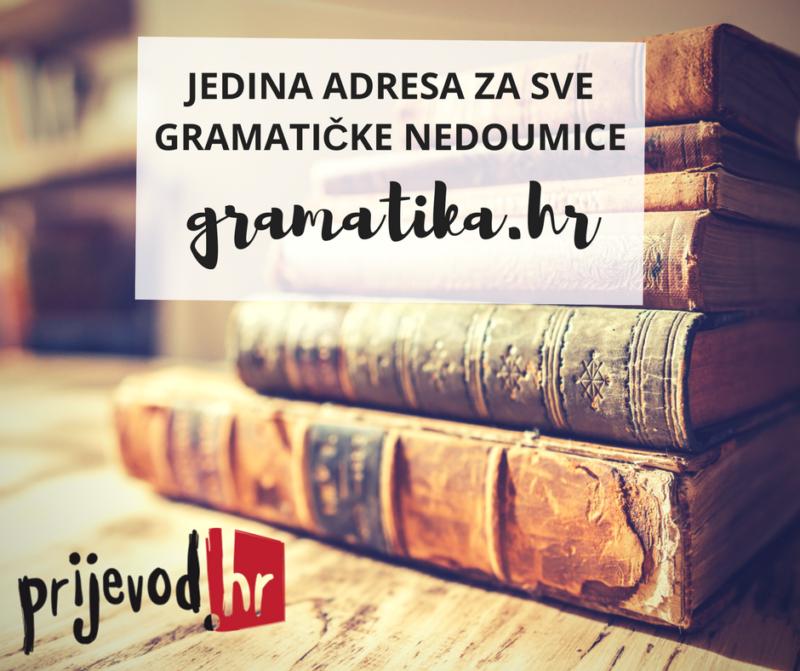 prijevod.hr hrvatska školska gramatika